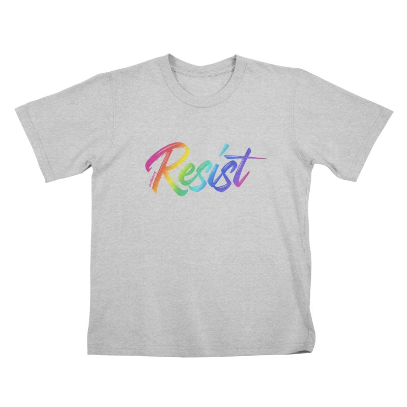 RESIST | ILTB Pride Collection 2019 Kids T-Shirt by I Love the Burg Swag