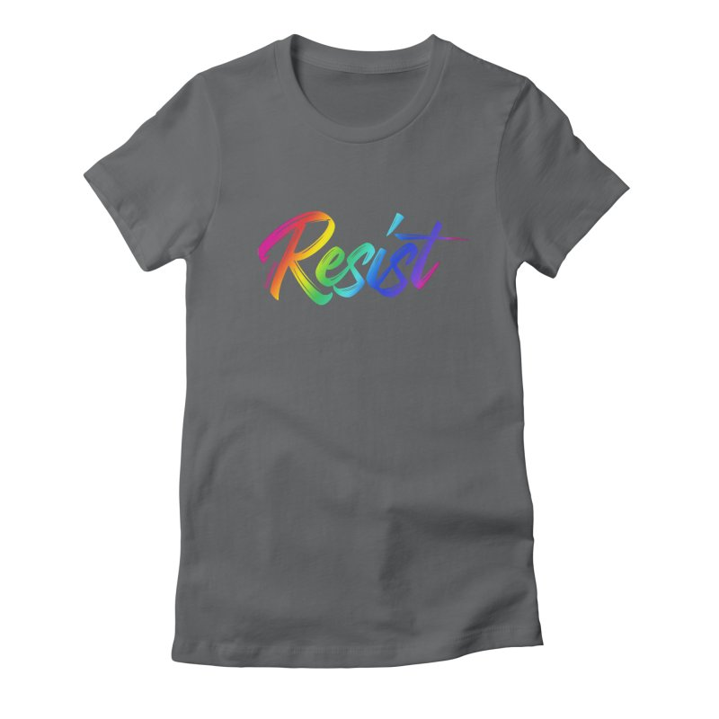 RESIST | ILTB Pride Collection 2019 Women's Fitted T-Shirt by I Love the Burg Swag