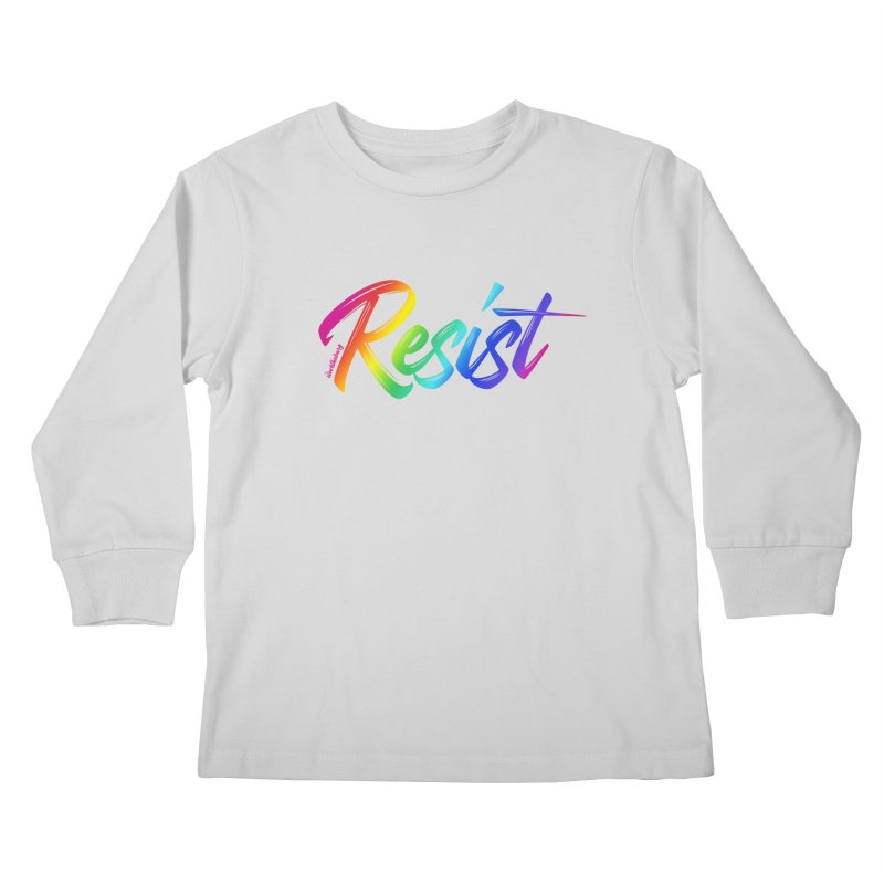 RESIST | ILTB Pride Collection 2019 Kids Longsleeve T-Shirt by I Love the Burg Swag