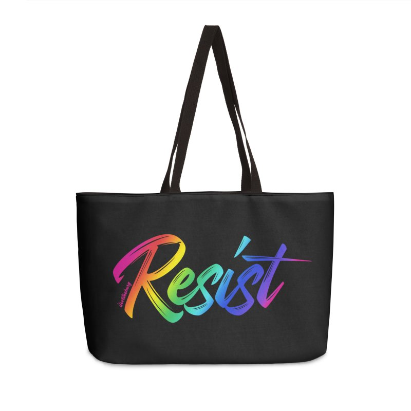 RESIST | ILTB Pride Collection 2019 Accessories Weekender Bag Bag by I Love the Burg Swag
