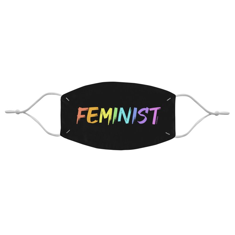 FEMINIST | ILTB Pride Collection 2019 Accessories Face Mask by I Love the Burg Swag