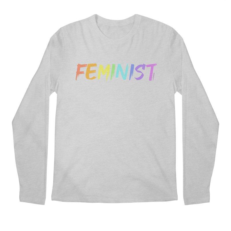 FEMINIST | ILTB Pride Collection 2019 Men's Regular Longsleeve T-Shirt by I Love the Burg Swag