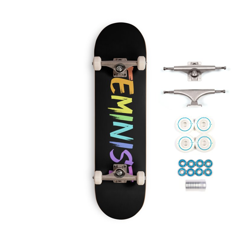 FEMINIST | ILTB Pride Collection 2019 Accessories Complete - Basic Skateboard by I Love the Burg Swag