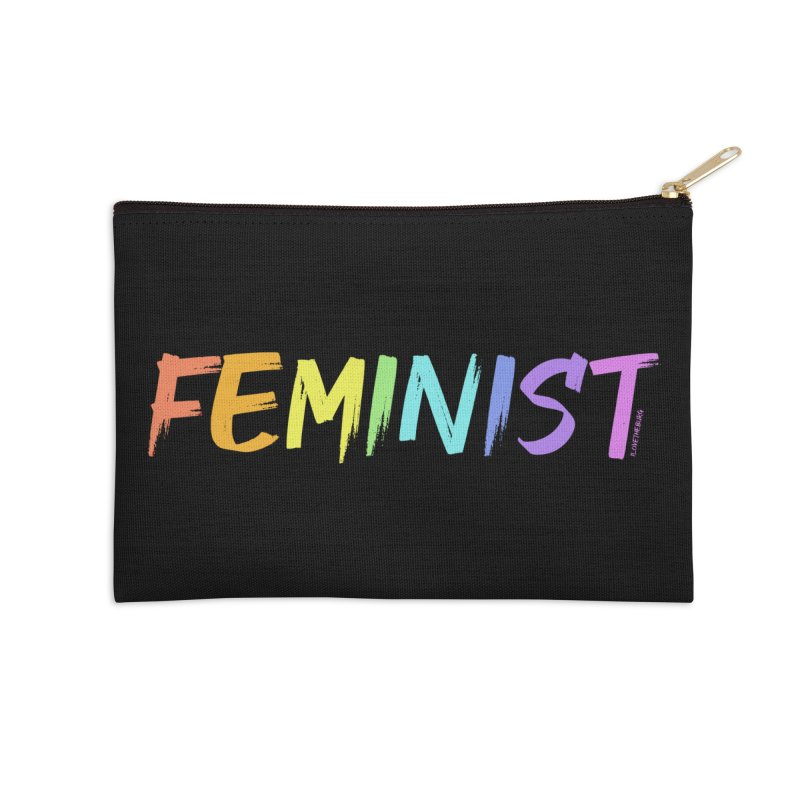 FEMINIST | ILTB Pride Collection 2019 Accessories Zip Pouch by I Love the Burg Swag