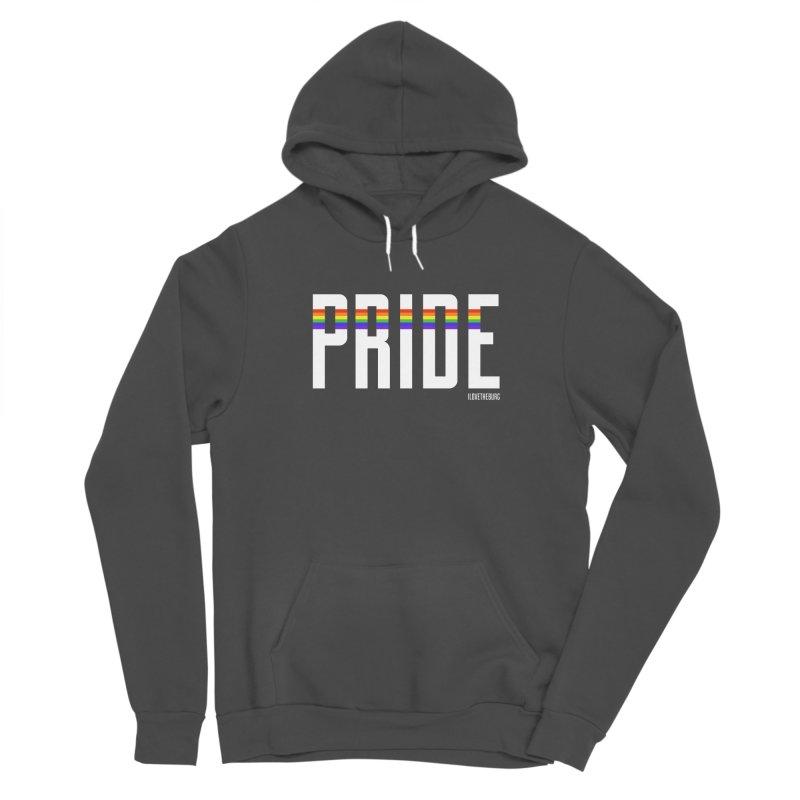 PRIDE | ILTB Pride Collection 2019 Women's Sponge Fleece Pullover Hoody by I Love the Burg Swag
