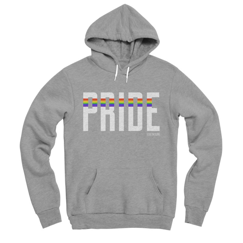 PRIDE | ILTB Pride Collection 2019 Men's Sponge Fleece Pullover Hoody by I Love the Burg Swag