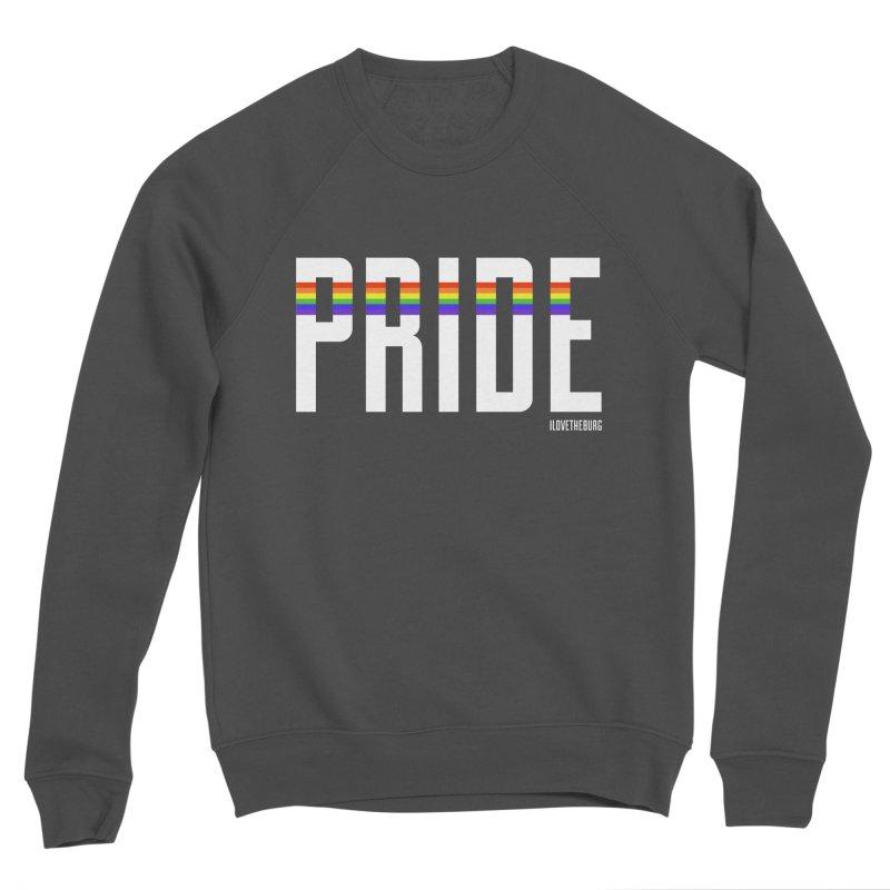 PRIDE | ILTB Pride Collection 2019 Men's Sponge Fleece Sweatshirt by I Love the Burg Swag