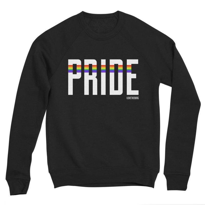 PRIDE   ILTB Pride Collection 2019 Women's Sponge Fleece Sweatshirt by I Love the Burg Swag