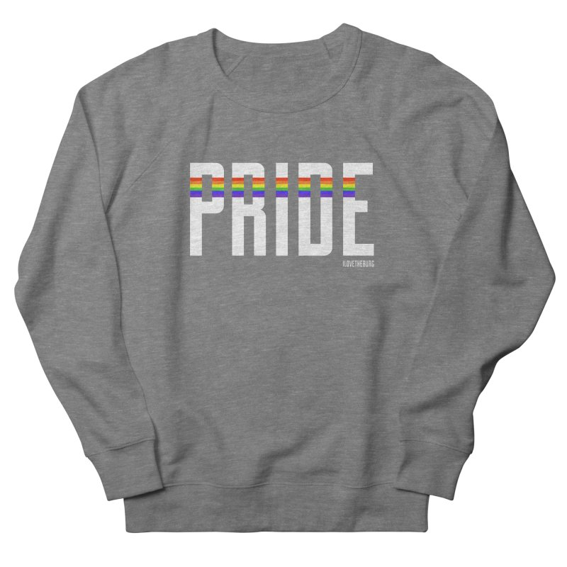 PRIDE | ILTB Pride Collection 2019 Men's French Terry Sweatshirt by I Love the Burg Swag