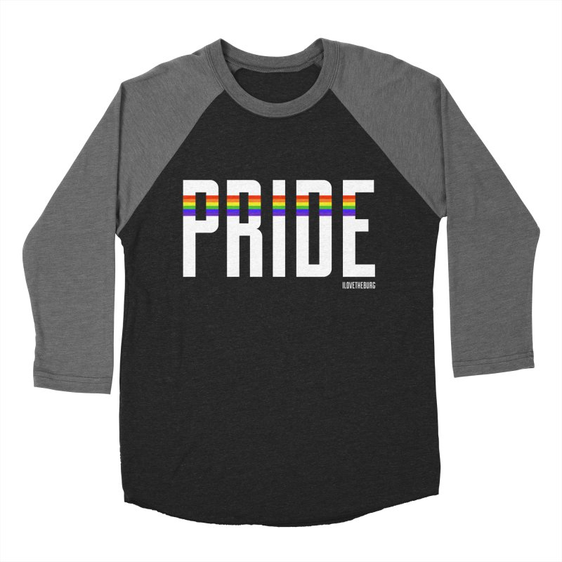PRIDE | ILTB Pride Collection 2019 Men's Baseball Triblend Longsleeve T-Shirt by I Love the Burg Swag