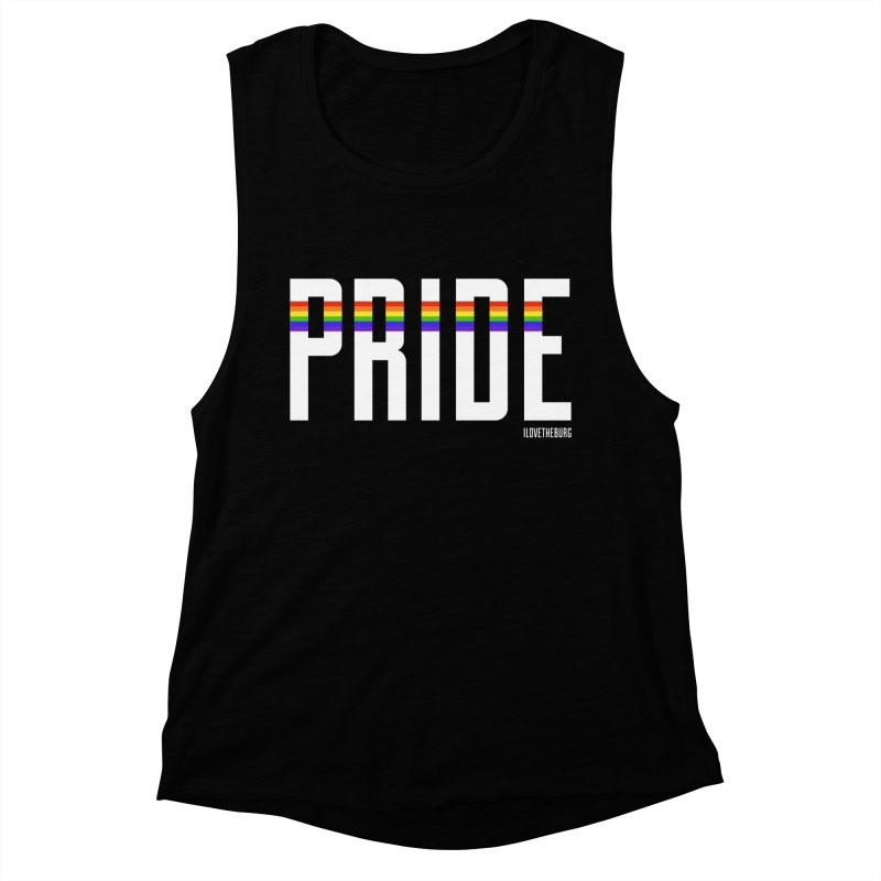 PRIDE | ILTB Pride Collection 2019 Women's Muscle Tank by I Love the Burg Swag