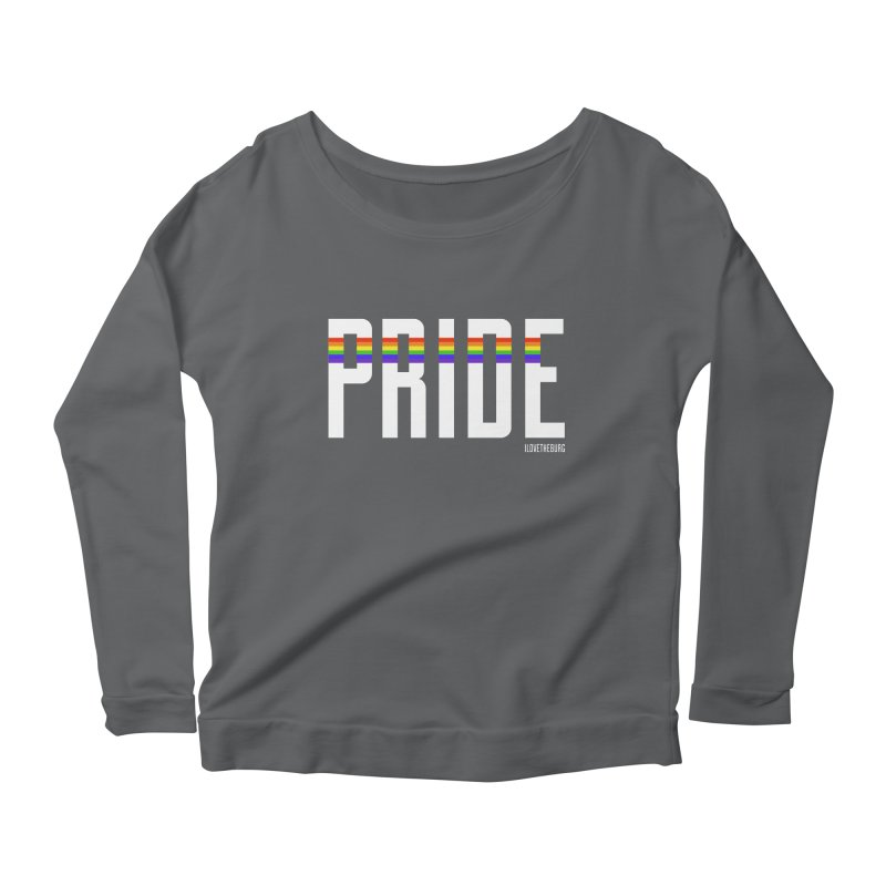 PRIDE | ILTB Pride Collection 2019 Women's Scoop Neck Longsleeve T-Shirt by I Love the Burg Swag