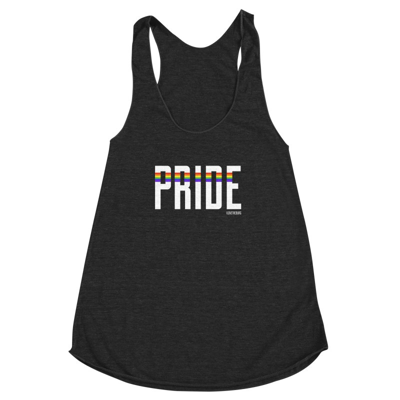 PRIDE | ILTB Pride Collection 2019 Women's Racerback Triblend Tank by I Love the Burg Swag