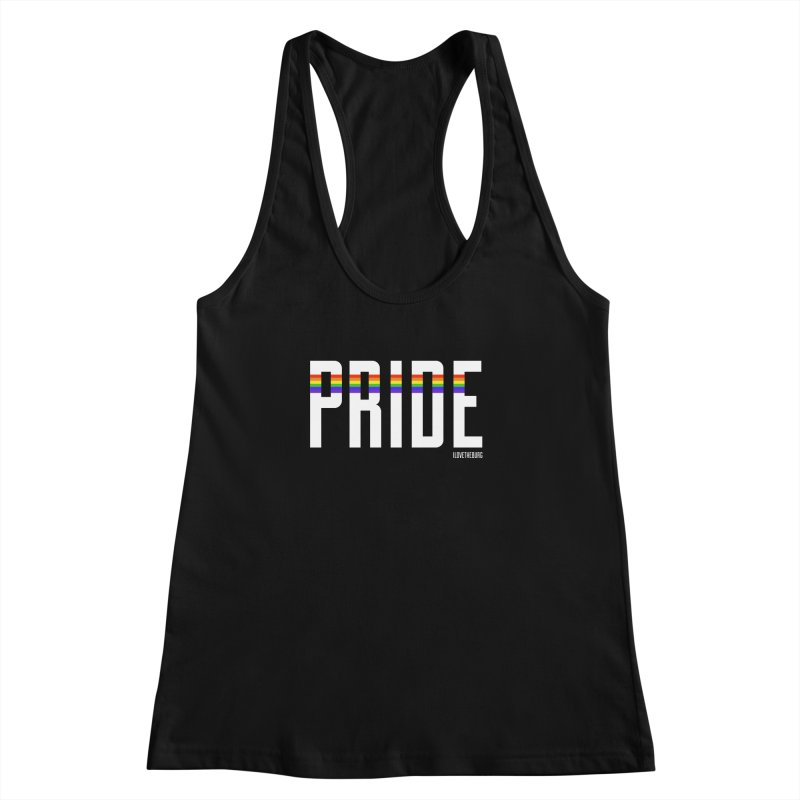 PRIDE | ILTB Pride Collection 2019 Women's Racerback Tank by I Love the Burg Swag