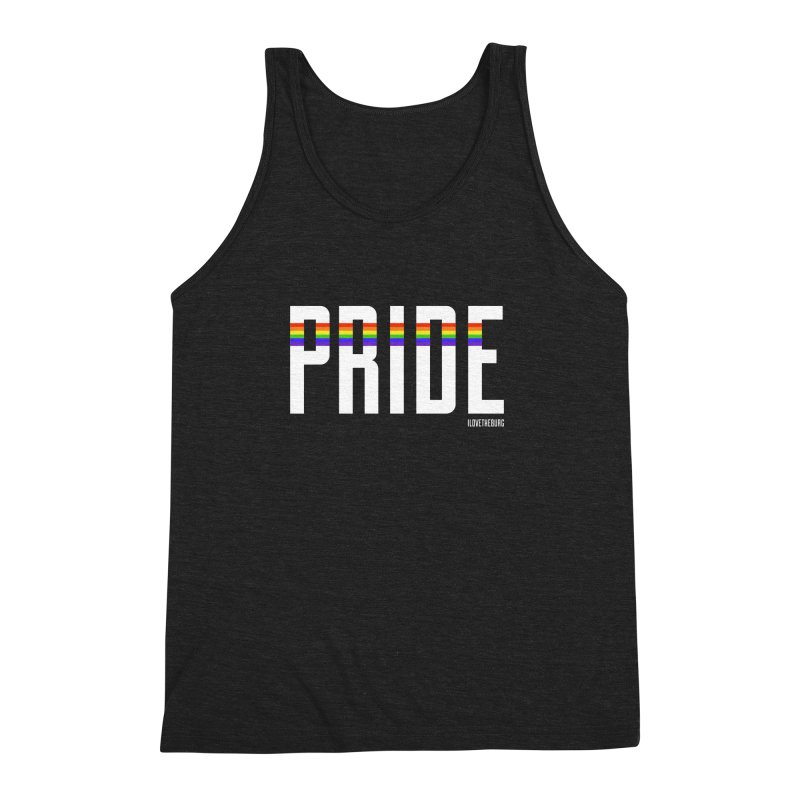 PRIDE | ILTB Pride Collection 2019 Men's Triblend Tank by I Love the Burg Swag