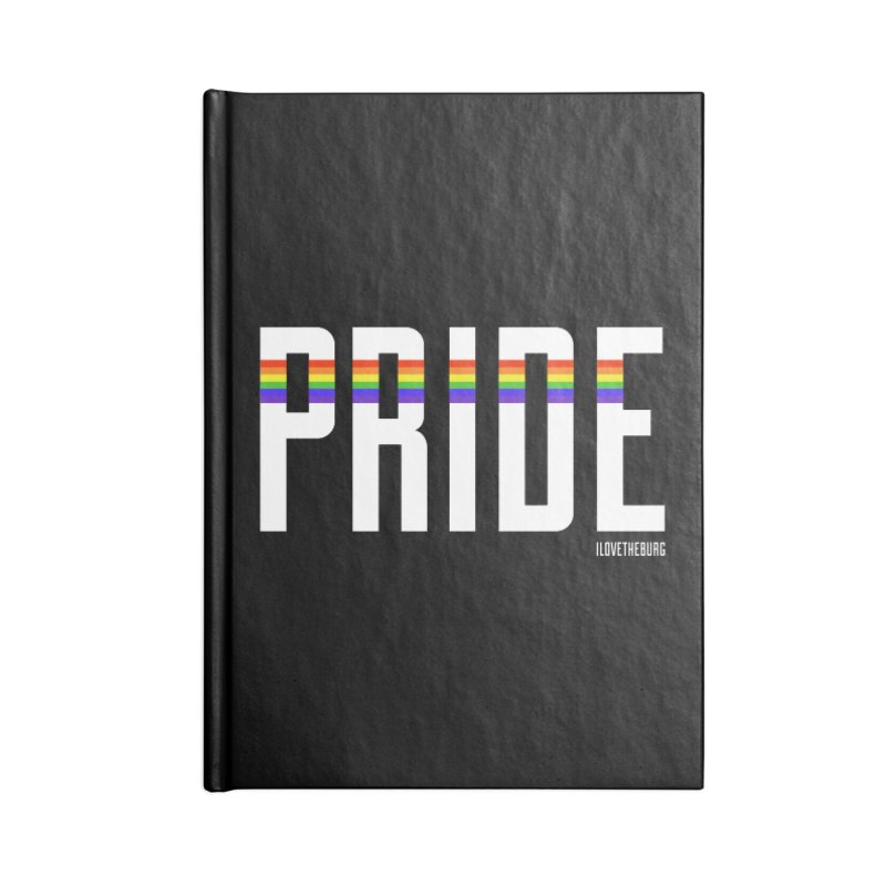 PRIDE | ILTB Pride Collection 2019 Accessories Blank Journal Notebook by I Love the Burg Swag