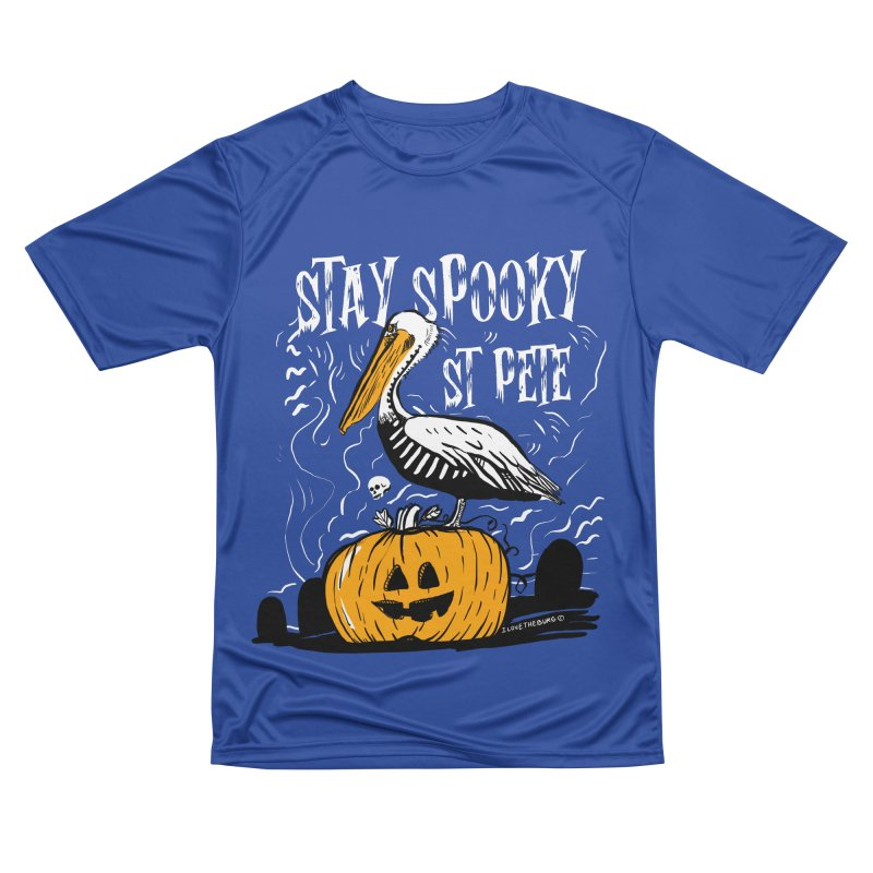 Stay Spooky St. Pete Men's Performance T-Shirt by I Love the Burg Swag