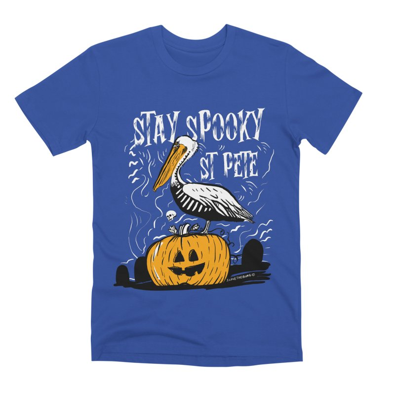 Stay Spooky St. Pete Men's Premium T-Shirt by I Love the Burg Swag