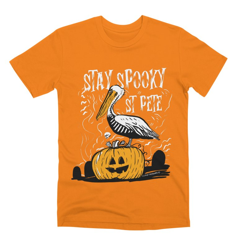 Stay Spooky St. Pete Men's T-Shirt by I Love the Burg Swag