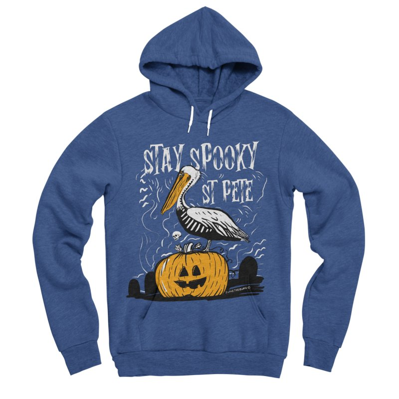 Stay Spooky St. Pete Men's Sponge Fleece Pullover Hoody by I Love the Burg Swag