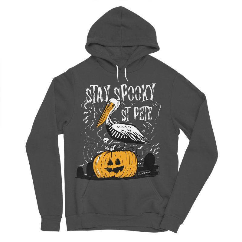 Stay Spooky St. Pete Men's Sponge Fleece Pullover Hoody by I Love the Burg Swag