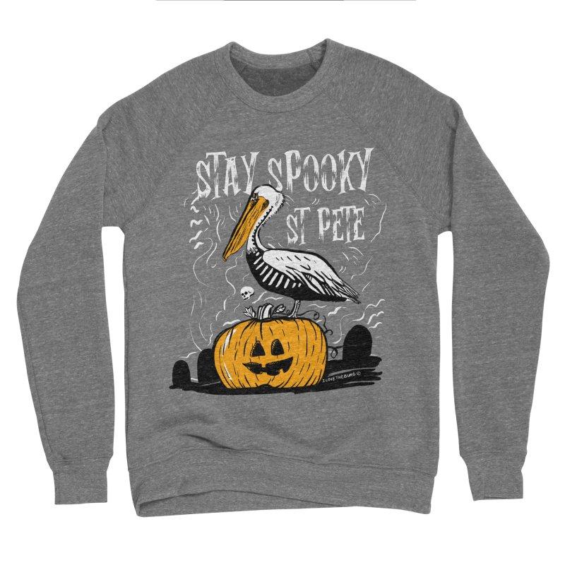 Stay Spooky St. Pete Men's Sponge Fleece Sweatshirt by I Love the Burg Swag