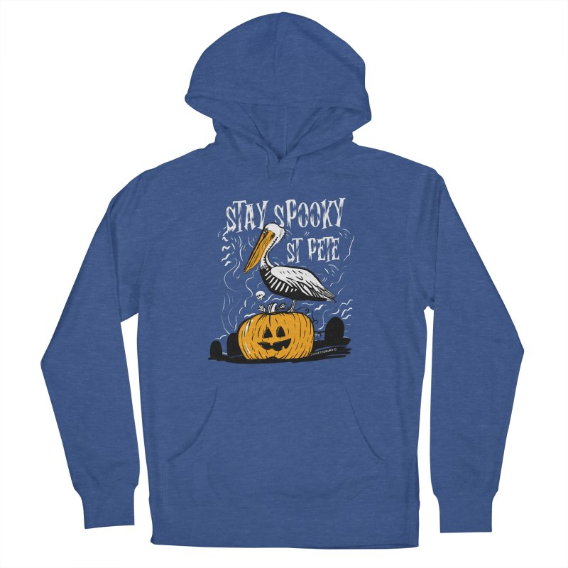 Stay Spooky St. Pete Loose Fit - All Gender Pullover Hoody by I Love the Burg Swag