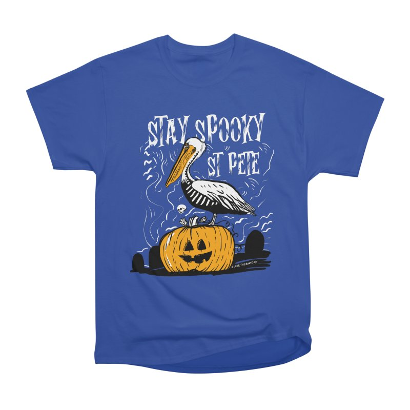Stay Spooky St. Pete Men's Heavyweight T-Shirt by I Love the Burg Swag