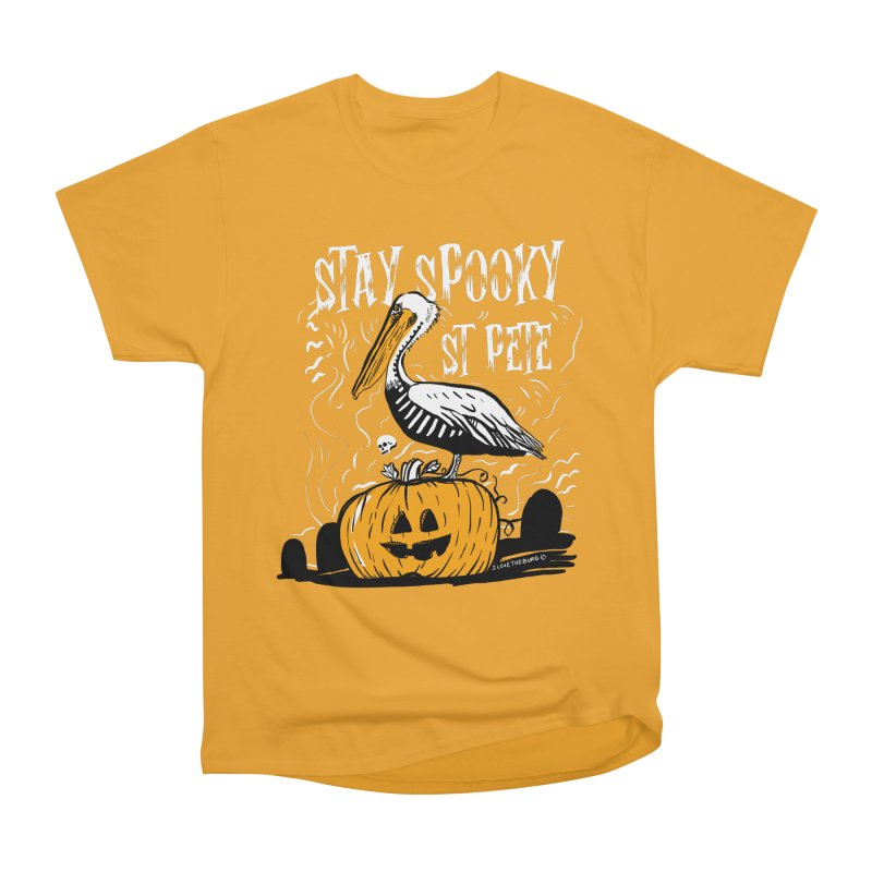 Stay Spooky St. Pete Women's Heavyweight Unisex T-Shirt by I Love the Burg Swag