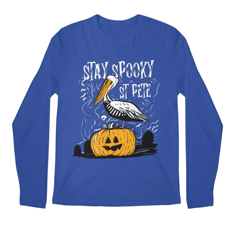 Stay Spooky St. Pete Men's Regular Longsleeve T-Shirt by I Love the Burg Swag