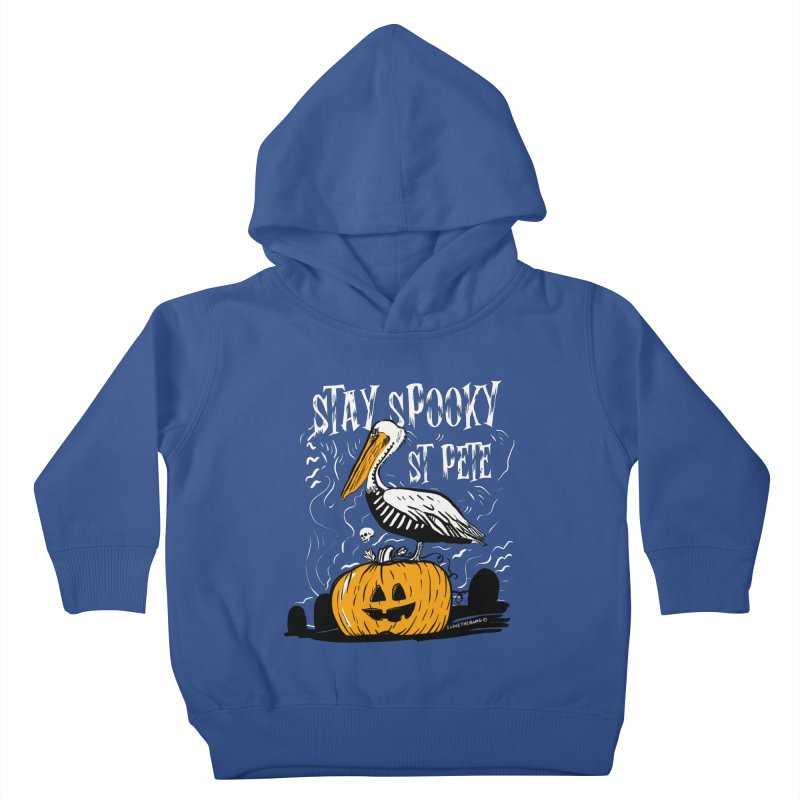 Stay Spooky St. Pete Kids Toddler Pullover Hoody by I Love the Burg Swag