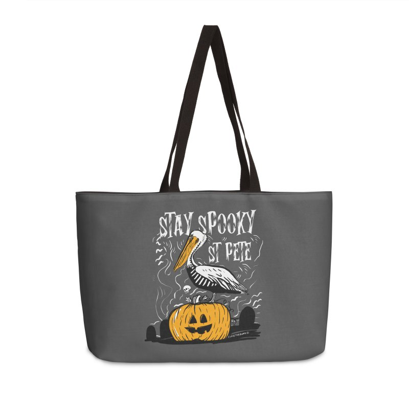 Stay Spooky St. Pete Accessories Weekender Bag Bag by I Love the Burg Swag