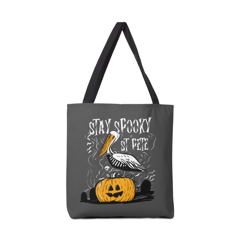Stay Spooky St. Pete Accessories Tote Bag Bag by I Love the Burg Swag