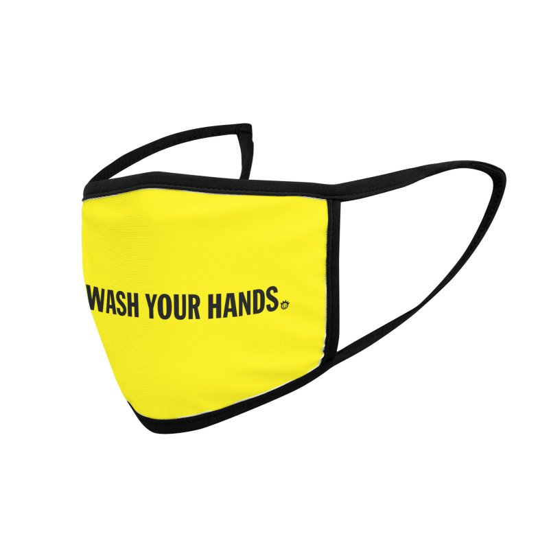 PSA: Wash Your Hands Accessories Face Mask by I Love the Burg Swag
