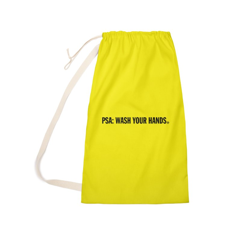 PSA: Wash Your Hands Accessories Bag by I Love the Burg Swag