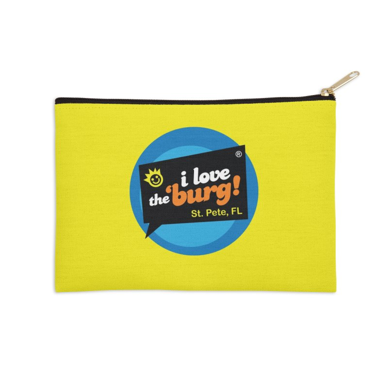 I Love the Burg | THE OG Accessories Zip Pouch by I Love the Burg Swag