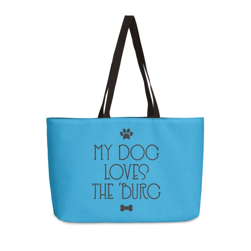 My Dog Loves the Burg Accessories Bag by I Love the Burg Swag