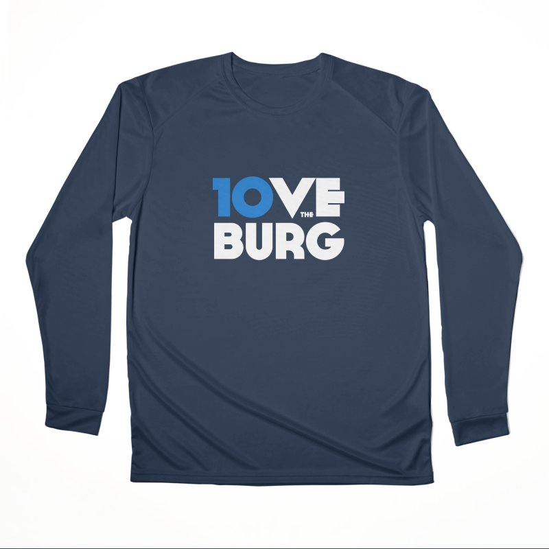 The 10 Year Anniversary Shirt Loose Fit - All Gender Longsleeve T-Shirt by I Love the Burg Swag