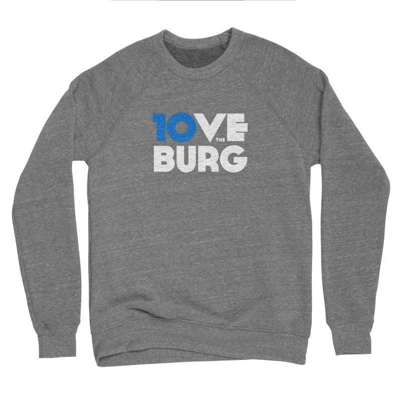 The 10 Year Anniversary Shirt Loose Fit - All Gender Sweatshirt by I Love the Burg Swag