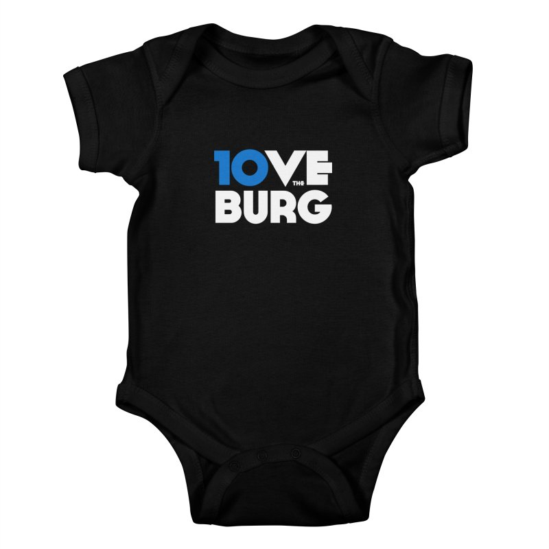 The 10 Year Anniversary Shirt Kids Baby Bodysuit by I Love the Burg Swag