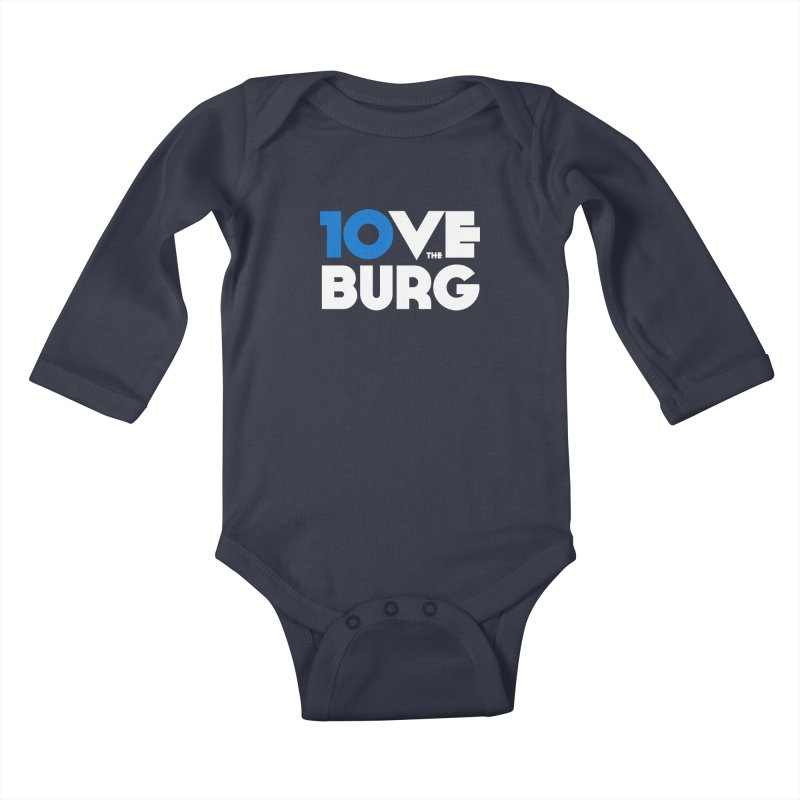 The 10 Year Anniversary Shirt Kids Baby Longsleeve Bodysuit by I Love the Burg Swag