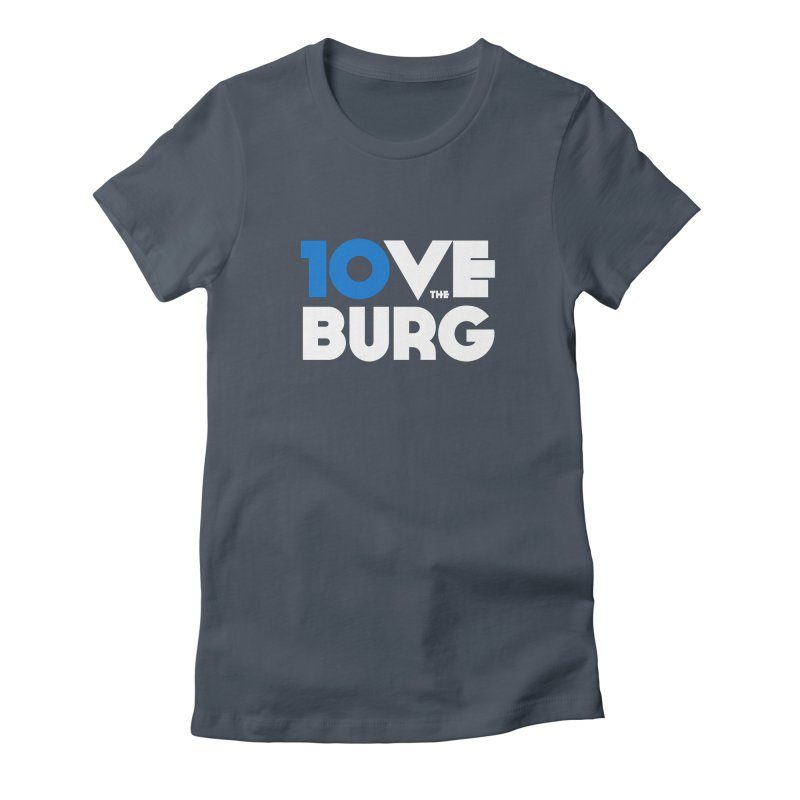 The 10 Year Anniversary Shirt Fitted - All Gender T-Shirt by I Love the Burg Swag