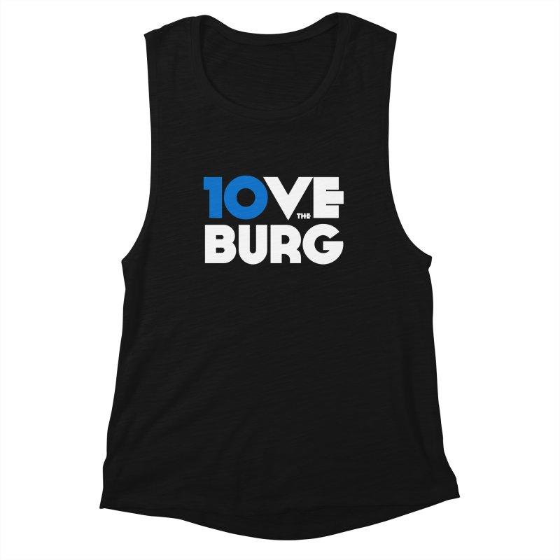 The 10 Year Anniversary Shirt Women's Tank by I Love the Burg Swag
