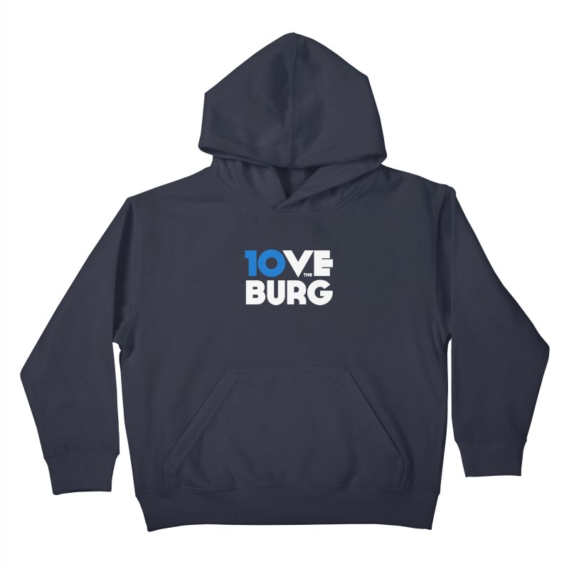 The 10 Year Anniversary Shirt Kids Pullover Hoody by I Love the Burg Swag