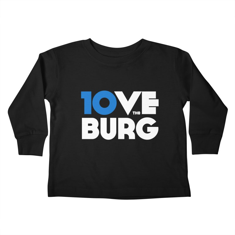 The 10 Year Anniversary Shirt Kids Toddler Longsleeve T-Shirt by I Love the Burg Swag