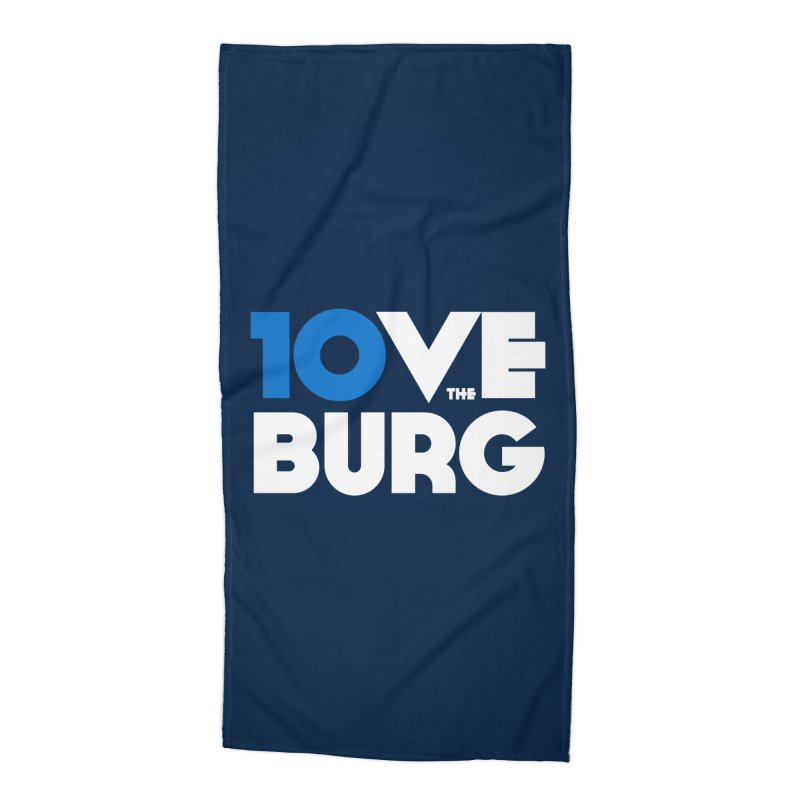 The 10 Year Anniversary Shirt Accessories Beach Towel by I Love the Burg Swag