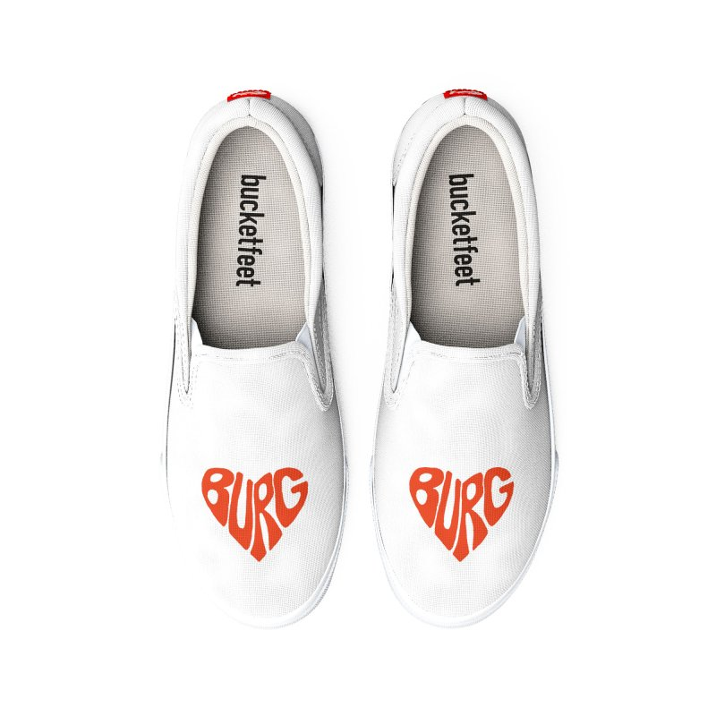 I Love the Burg With My Whole Heart Loose Fit - All Gender Shoes by I Love the Burg Swag