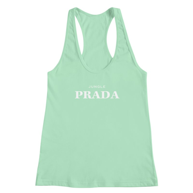 Jungle PRADA Fitted - All Gender Tank by I Love the Burg Swag