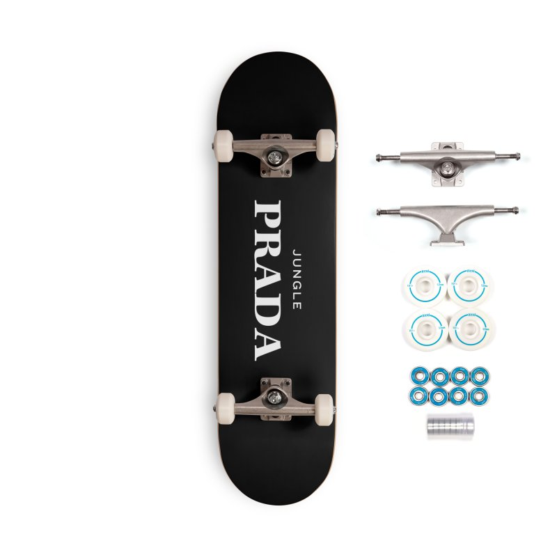Jungle PRADA Accessories Skateboard by I Love the Burg Swag