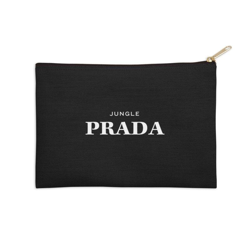 Jungle PRADA Accessories Zip Pouch by I Love the Burg Swag